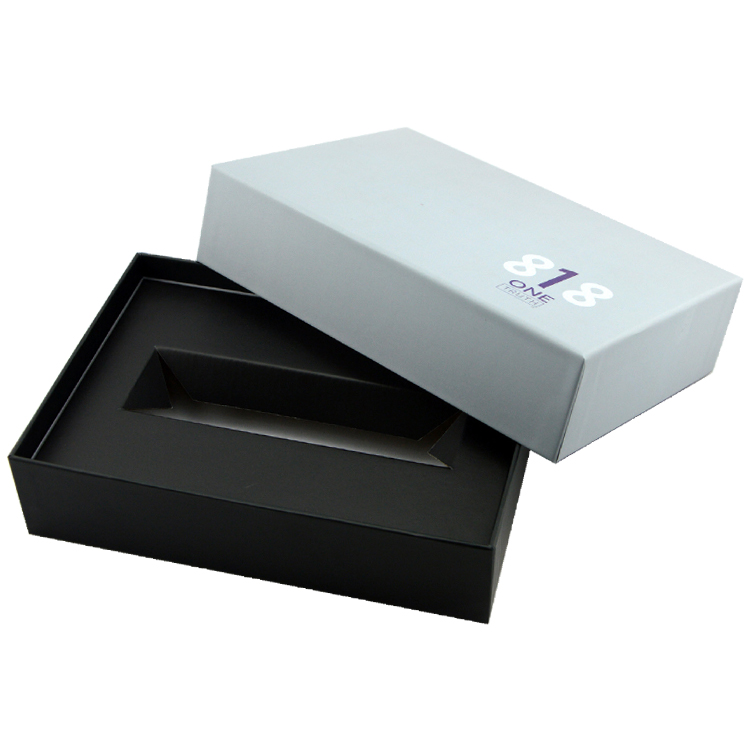Reliable China Factory Custom Lid And Base Packaging Paper Gift Box With Cardboard Insert For Cosmetics Serum