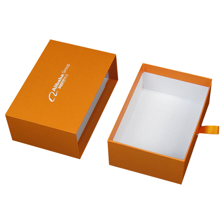 Buy Sliding Rigid Paper Drawer Boxes and Custom Slide Drawer Box Packaging from Shenzhen Factory